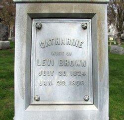 Catharine <i>Poffenberger</i> Brown