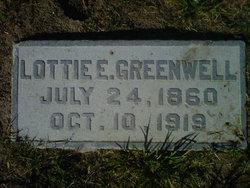 Charlotte Ereva Lottie <i>O'Brien</i> Greenwell
