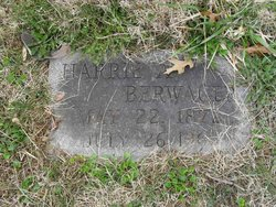 Harrie A. Berwager