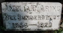 Amelia C. <i>Sunderbruck</i> Aring