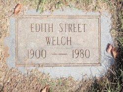 Edith <i>Street</i> Welch