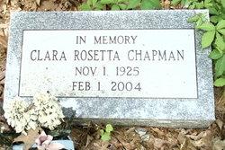 Clara Rosetta Chapman