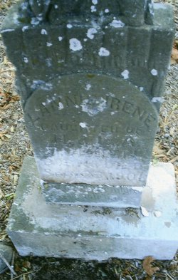 Infant Lannie Irene Burden