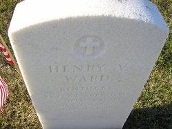 Pvt Henry V Ward