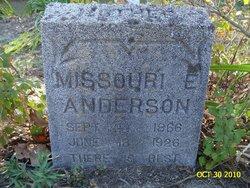 Missouri Ellen <i>Kimbriel</i> Anderson