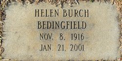 Helen <i>Burch</i> Bedingfield