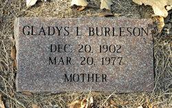 Gladys Lydia <i>Shauds</i> Burleson