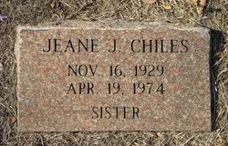 Jeane J <i>Burleson</i> Chiles
