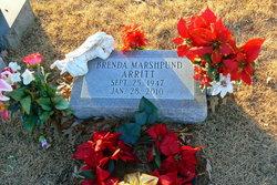 Brenda M <i>Marshpund</i> Arritt