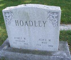 James M Hoadley