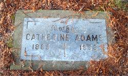 Catherine Kitty <i>Dunn</i> Adams