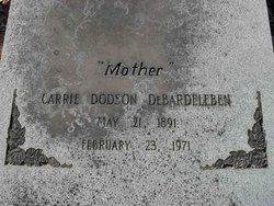 Carrie Edna <i>Dodson</i> DeBardeleben