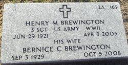 Bernice <i>Callender</i> Brewington