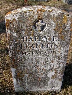Sgt Harry E Franklin