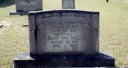 Susan Ann <i>Sauls</i> Manuel