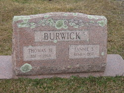 Fannie Lenora <i>Sloan</i> Burwick