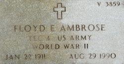 Floyd E Ambrose