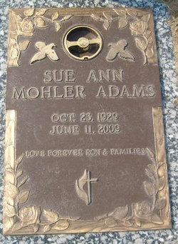 Sue A. <i>Cleaver</i> Adams