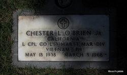 LCpl Chester Laverne O'Brien, Jr