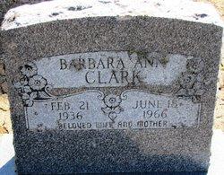 Barbara Ann <i>Miller</i> Clark