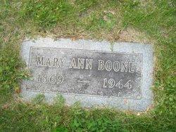 Mary Ann <i>Deppe</i> Boone
