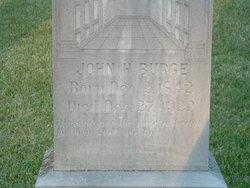 John Henry Burge