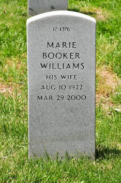 Marie Booker <i>Williams</i> Payne