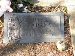 Lucy C Adams