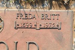 Sarah Freda <i>Britt</i> Arnold