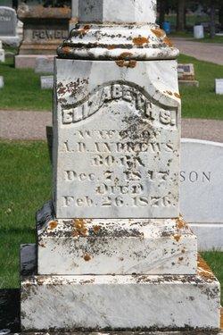 Elizabeth S. Libbie <i>Ellis</i> Andrews