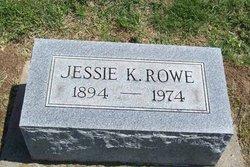Jessie K Rowe