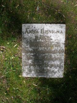 Anna Benigna <i>Hessler</i> Bage