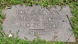 Hoke S Benson