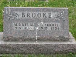Minnie Mae <i>Arnold</i> Brooke