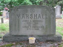 Sarah Frances <i>Purgason</i> Marshall