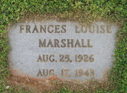 Frances Louise Marshall