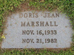 Doris Jean Marshall