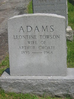 Leontine <i>Towson</i> Adams