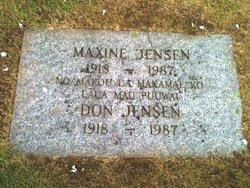 Clara Maxine Maxine Jensen