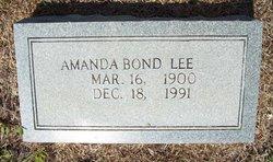 Amanda <i>Bond</i> Lee