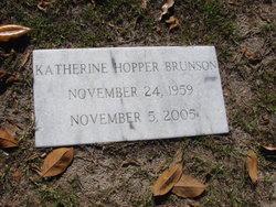 Katherine <i>Hopper</i> Brunson