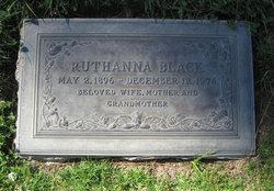Ruthanna <i>Ransom</i> Black