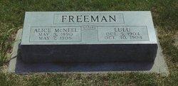 Lula Freeman