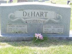 Mamie Susan <i>Parrish</i> DeHart
