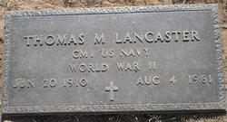 Thomas Morgan Tom Lancaster