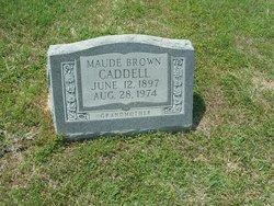 Maud <i>Christopher</i> Caddell