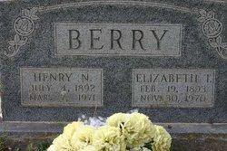 Elizabeth Texana Lizzie <i>Richmond</i> Berry