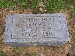 Catherine <i>King</i> Womack