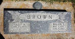Cleo Martha <i>Akers</i> Brown