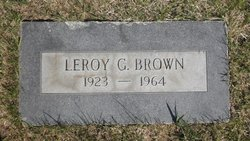 Leroy Glen Brown